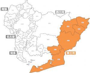 愛知県マップ